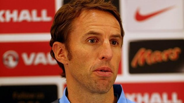 Gareth Southgate was named as Stuart Pearce's successor last month
