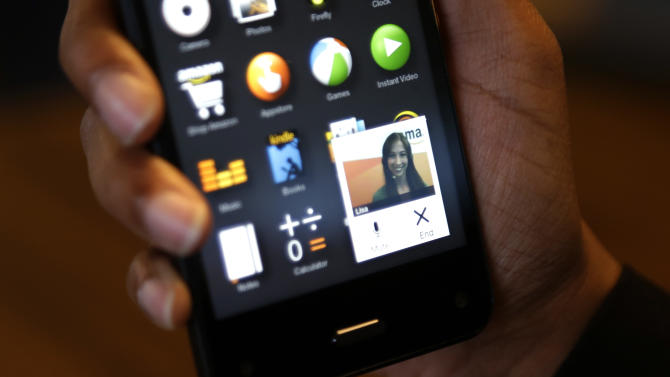 Review: Amazon Fire offers new ways to use phones