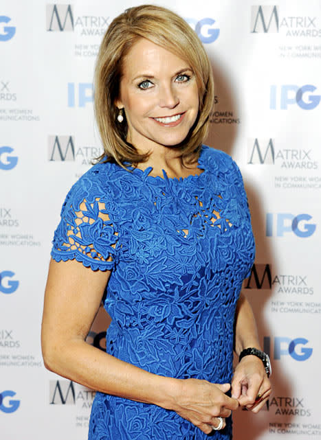 Katie Couric Dating Financier John Molner: Report