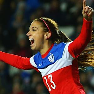 Alex Morgan ready to exceed expectations in World Cup