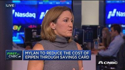 Mylan CEO on EpiPens: The system rewards higher prices