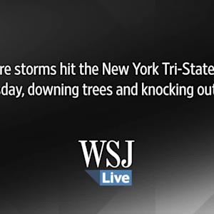 Severe Storms Hit Near Syracuse, N.Y.