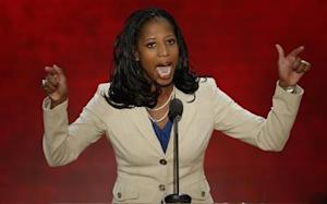 Republican U.S. congressional candidate Love addresses the second session of the Republican National Convention in Tampa