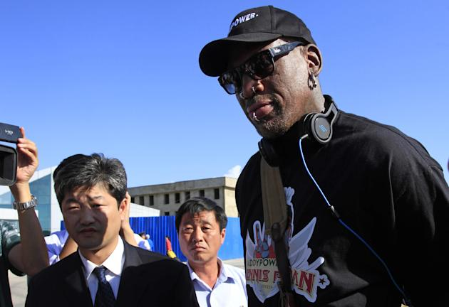 Rodman visits North Korea