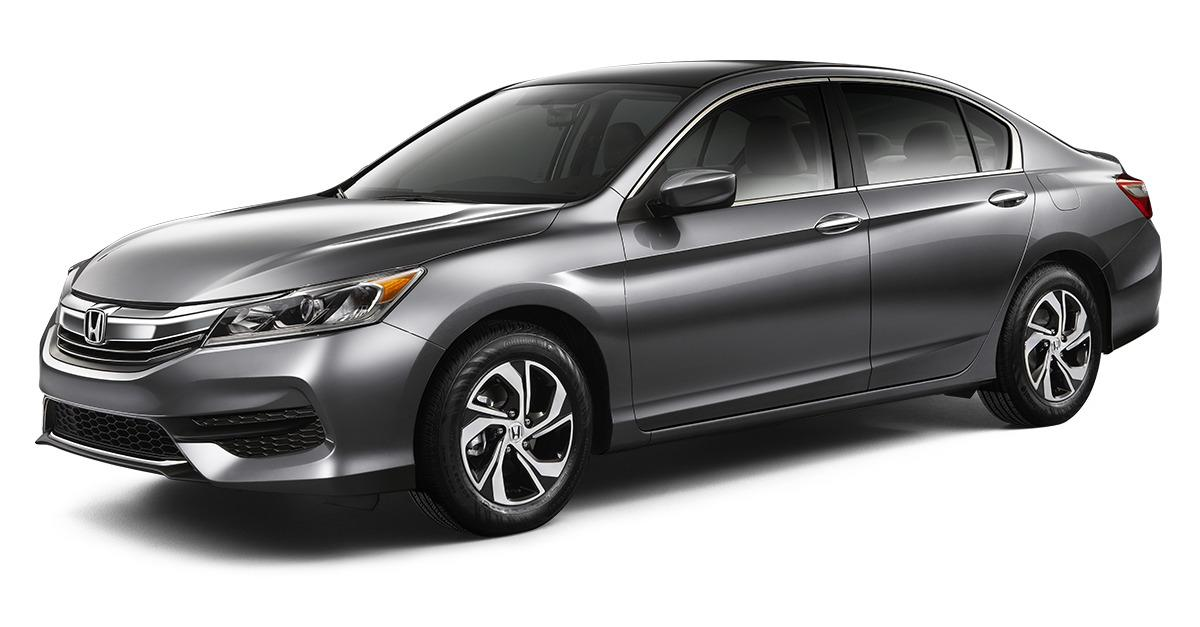 The 2016 Honda Accord Sedan