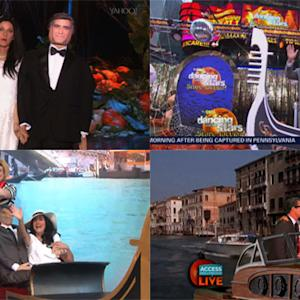 Every Morning TV Show Host Dressed as George and Amal