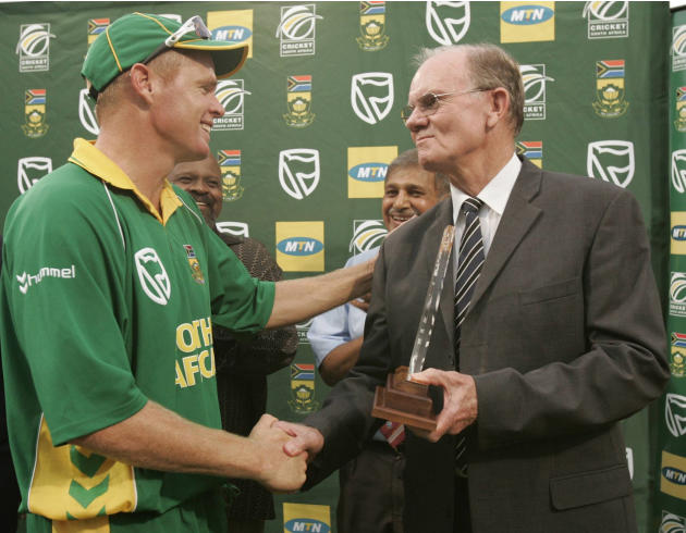 Peter Pollock and Shaun Pollock