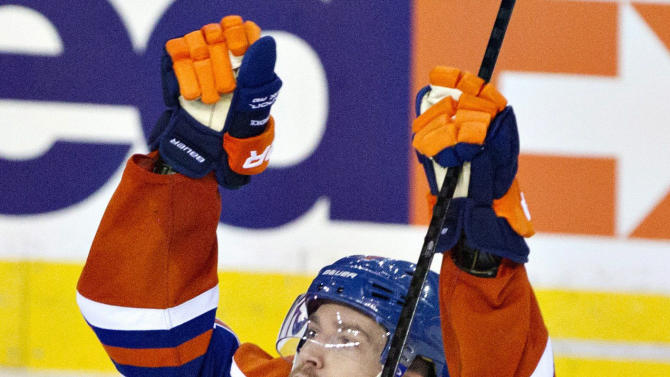 Oilers slip past Ducks 4-3 in OT