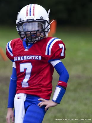 10-year-old quarterback Daron Bryden — Talcott Photography