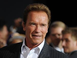 US actor and former Governor of California Arnold Schwarzenegger.