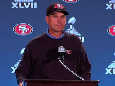 49ers Coach: 'We're Super Happy to Be Here'