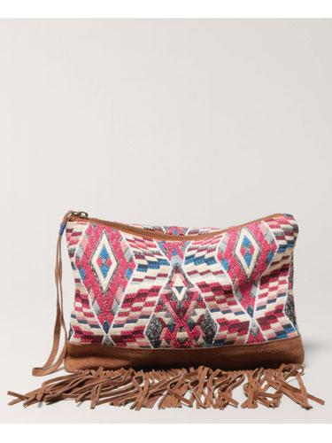 Boho: Fringed Bag
