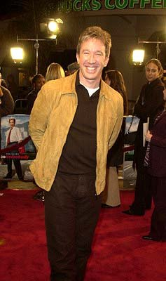 Premiere: Tim Allen at the LA premiere of Joe Somebody - 12/19/2001
