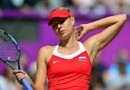 World number two Maria Sharapova (pictured on August 3) has withdrawn from the WTA Montreal event citing a viral infection. The Russian Olympic silver medalist joins US gold medal winner Serena Williams in missing the event, which falls directly after the end of the Games' tennis competition