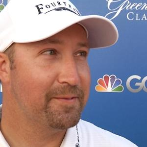 Chad Collins interview after Round 3 of The Greenbrier