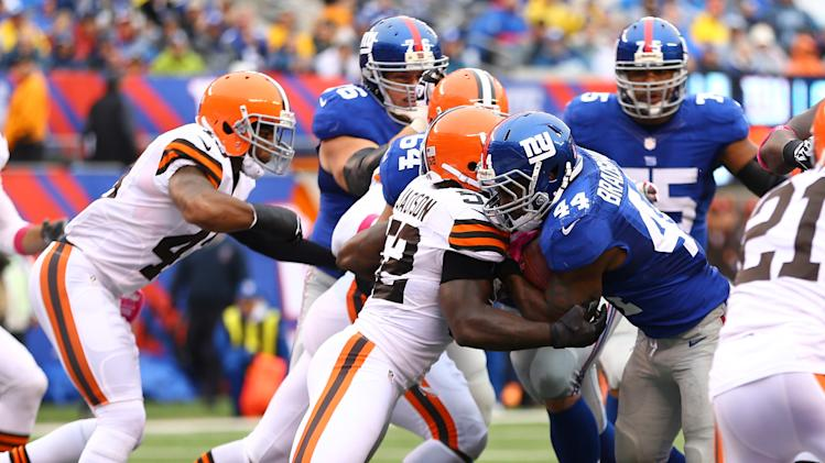 Cleveland Browns v New York Giants