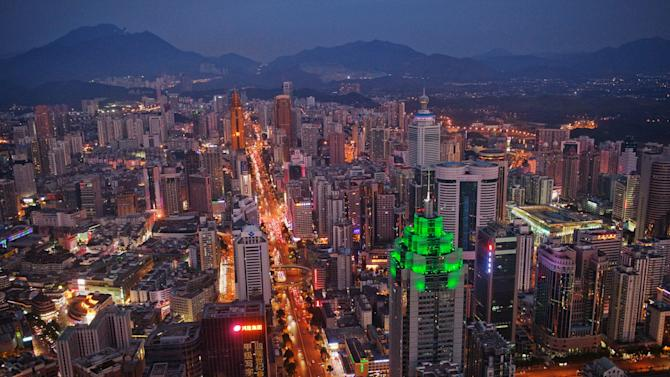 Shenzhen One Of The Fastest Growing Cities In The World