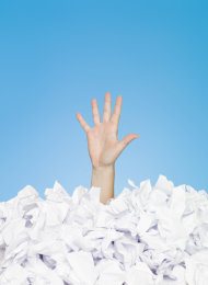 Drowning In Your Business Documents? These 4 Tips Can Save You image Depositphotos 3294288 s
