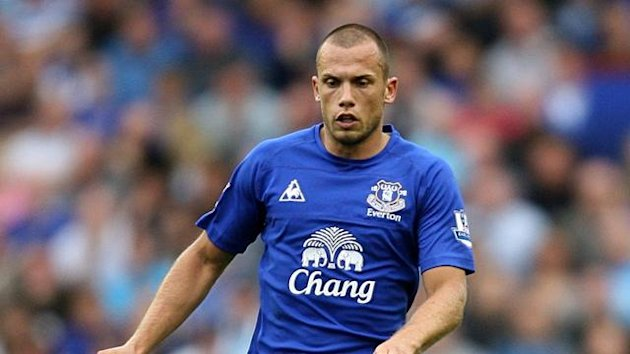 2010-11 Premier League Everton's Johnny Heitinga