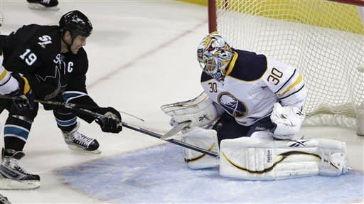 Miller leads Sabres over Sharks 1-0