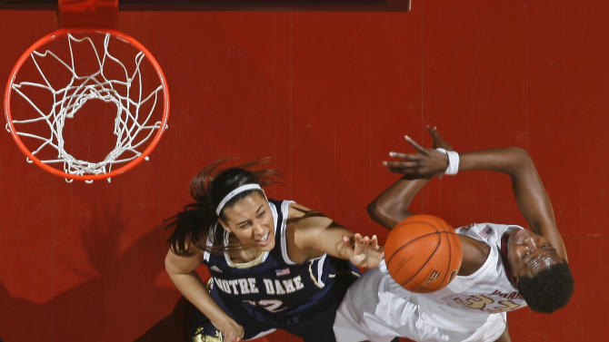 No. 2 Notre Dame women defeat Florida St 81-60