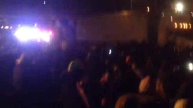 Oakland Police Order Ferguson Protesters to Disperse