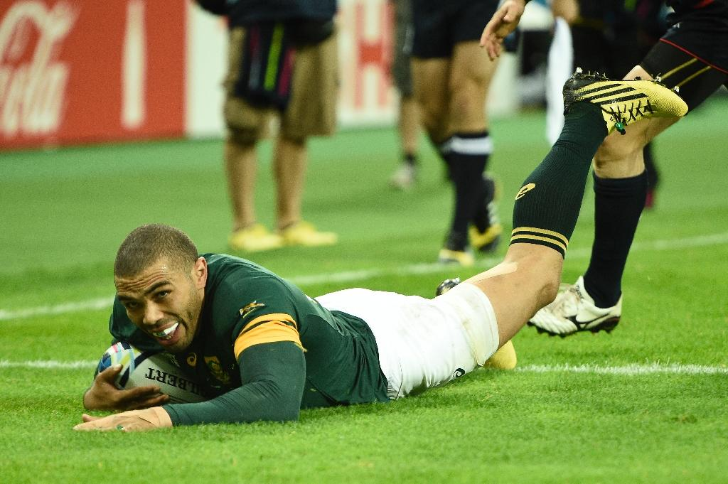 Habana equals Lomu record as Springboks reach World Cup quarter finals