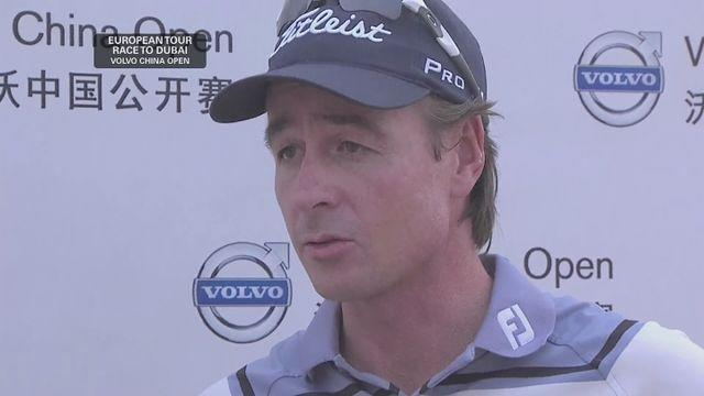 Brett Rumford celebrates back-to-back European Tour titles