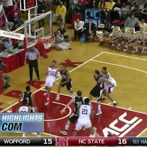 Wofford vs NC State | 2014-15 ACC Men's Basketball Highlights