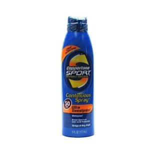 Spray-On Sunscreen