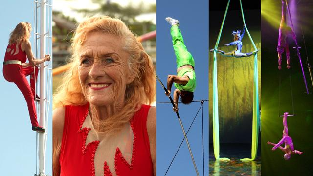 76 Year Old Circus Great Still Performing