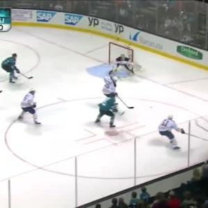 Michal Neuvirth Save on Logan Couture (05:18/1st)