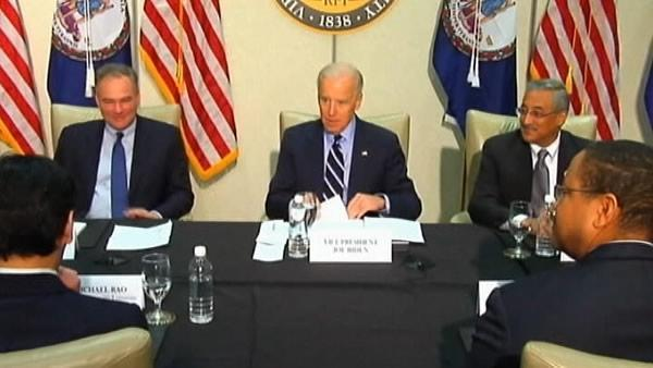 Biden: Va. Tech showed background checks needed