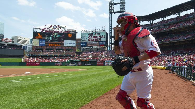 MLB: Cincinnati Red at St. Louis Cardinals