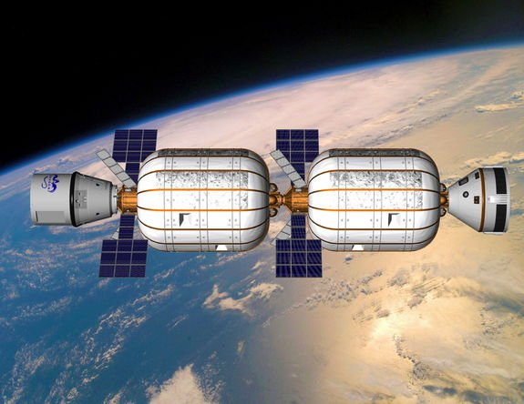 Alpha Station: Private Inflatable Space Outpost Envisioned