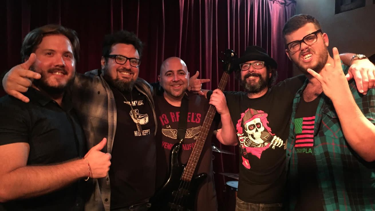 Duff Goldman and Bruce Kalman's Foie Grock Band Playing at Legendary Hotel Cafe