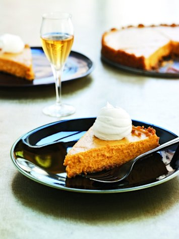 Cooking Light's Vanilla Bourbon Pumpkin Tart -- Cooking Light