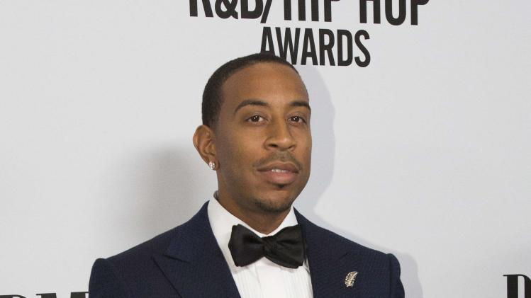 Ludacris poses at the 2014 BMI R&B/Hip-Hop Awards at The Pantages theatre in Hollywood