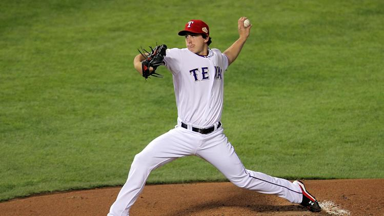 2011 World Series Game 4 -Texas Rangers v St Louis Cardinals