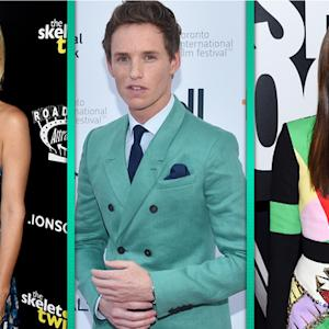 Kristen Wiig, Joan Smalls & Eddie Redmayne Transition Fashion Into Fall