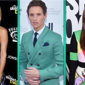 Kristen Wiig, Joan Smalls & Eddie Redmayne Transition Fashion Into Fall