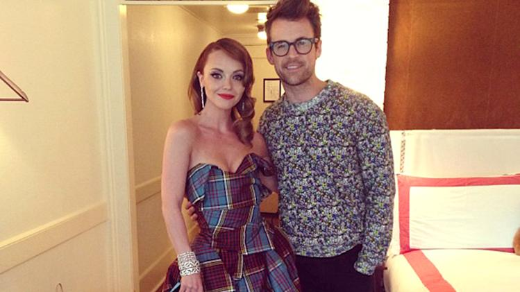Christina Ricci and Brad Goreski