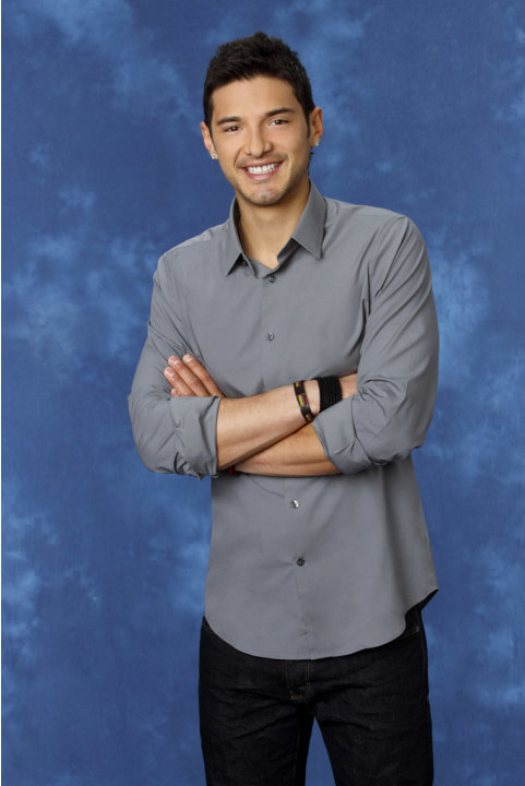 "Alejandro, 25, a mushroom farmer from San Francisco, CA is featured on the 8th edition of ""The Bachelorette."""