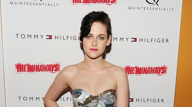 The Runaways NY premiere 2010 Kristen Stewart