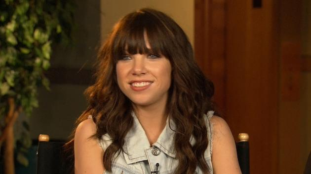 Carly Rae Jepsen chats with Access Hollywood on the set of 'America's Got Talent,' New York City, Aug. 15, 2012 -- Access Hollywood