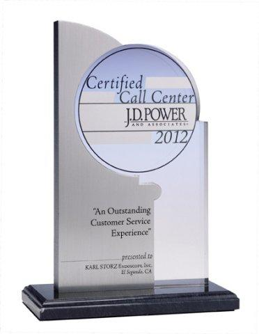 "KARL STORZ Call Center Recognized By J.D. Power and Associates for ""An Outstanding Customer Service Experience"""