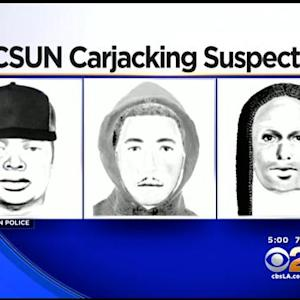 Search Is On For 3 Armed Carjackers Who Stole Victim's Vehicle At CSUN