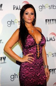 JWOWW modeling her Filthy Couture line that will never be. / Photo by Getty Images