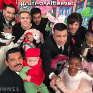 One Direction Takes Cutest Selfie Ever on 'Kimmel'