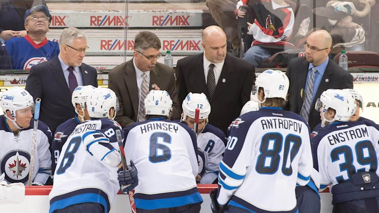 NHL: Winnipeg Jets at Ottawa Senators
